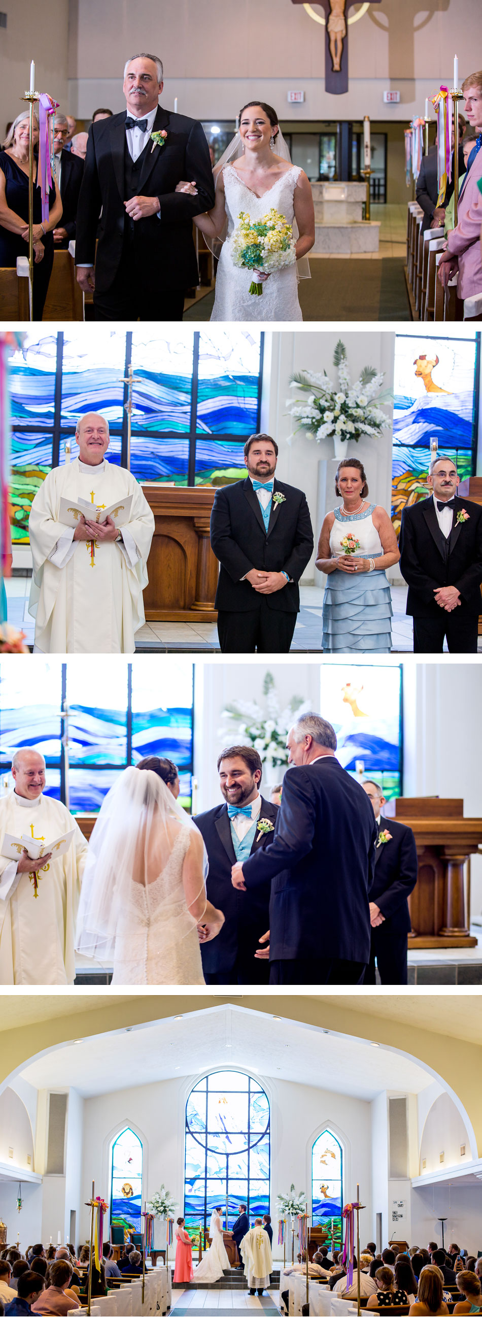 Church of Ascension Wedding Ceremony