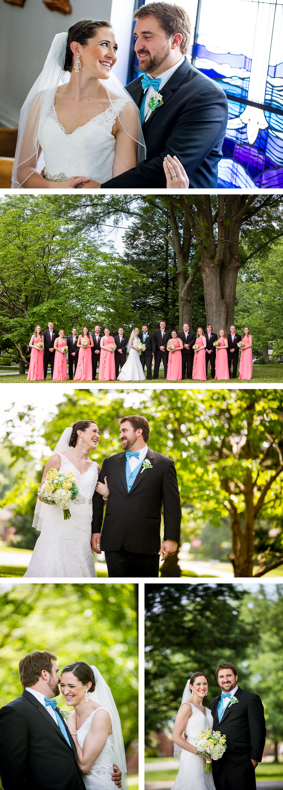 Church of Ascension Bridal Party Pictures