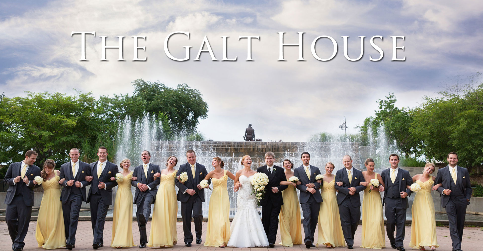 The Galt House Wedding Photo