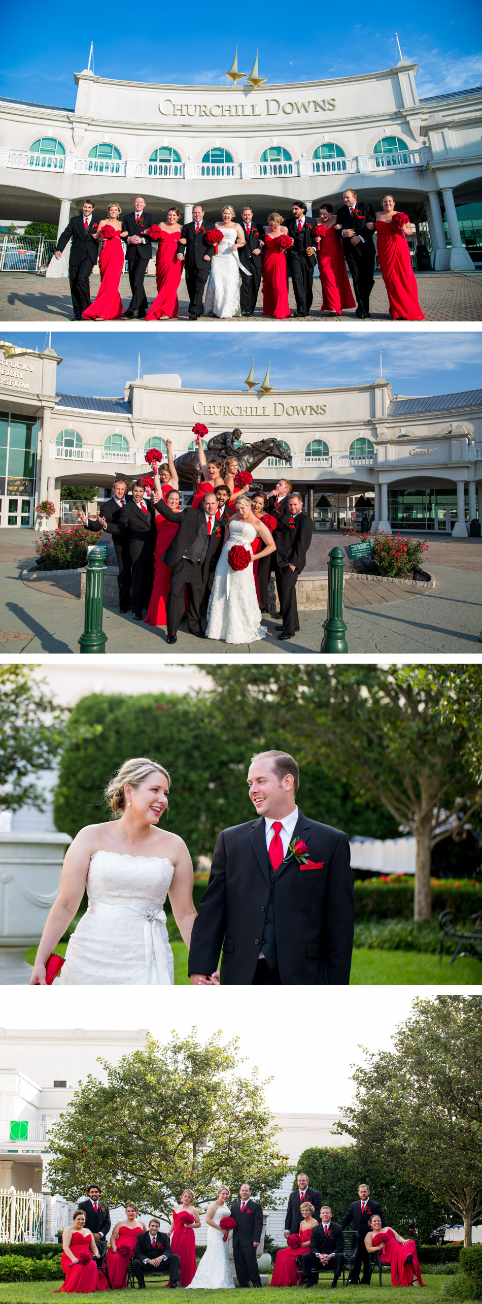 Churchill Downs Wedding Photos