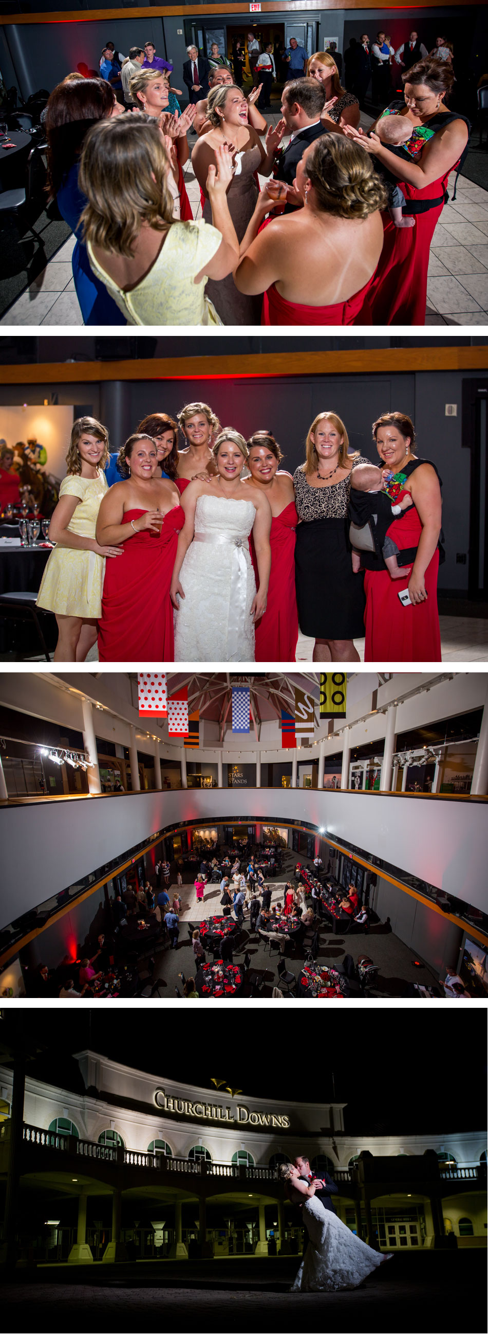 Dancing Kentucky Derby Museum Wedding