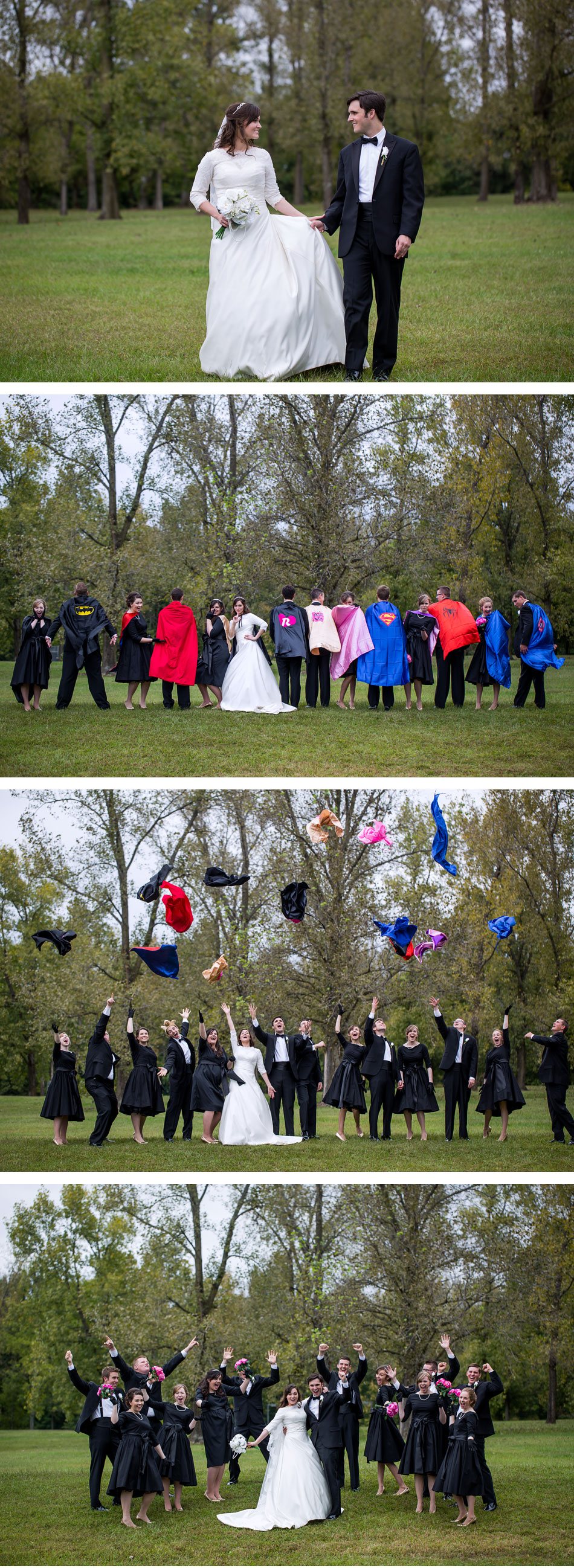 bridal party photos emotion image