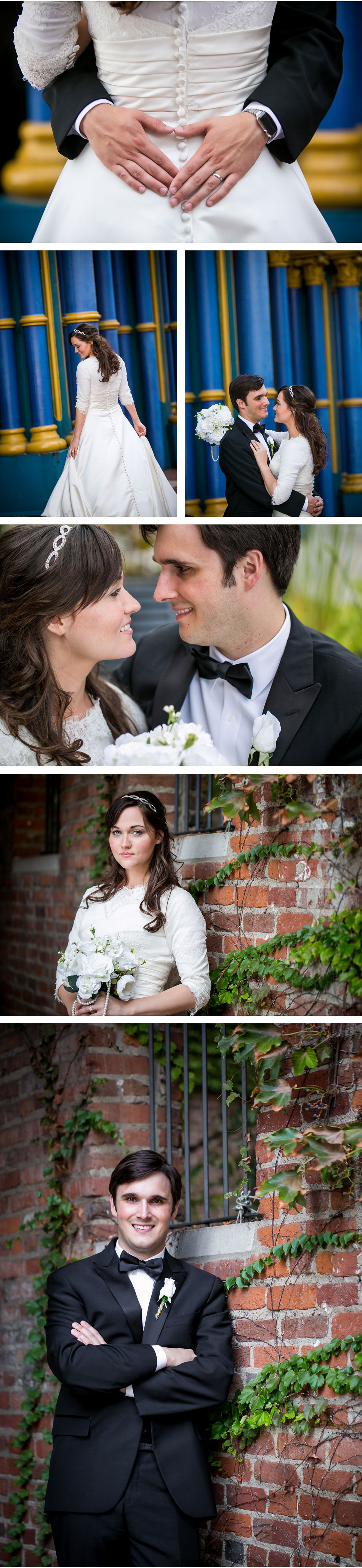 downtown louisville wedding photos