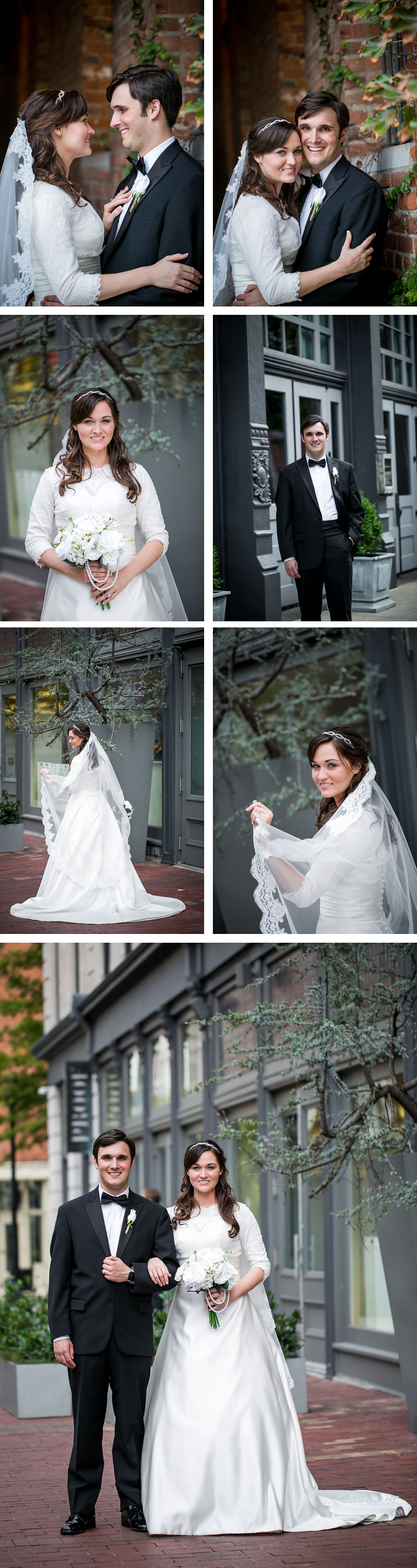 Main street louisville wedding photos