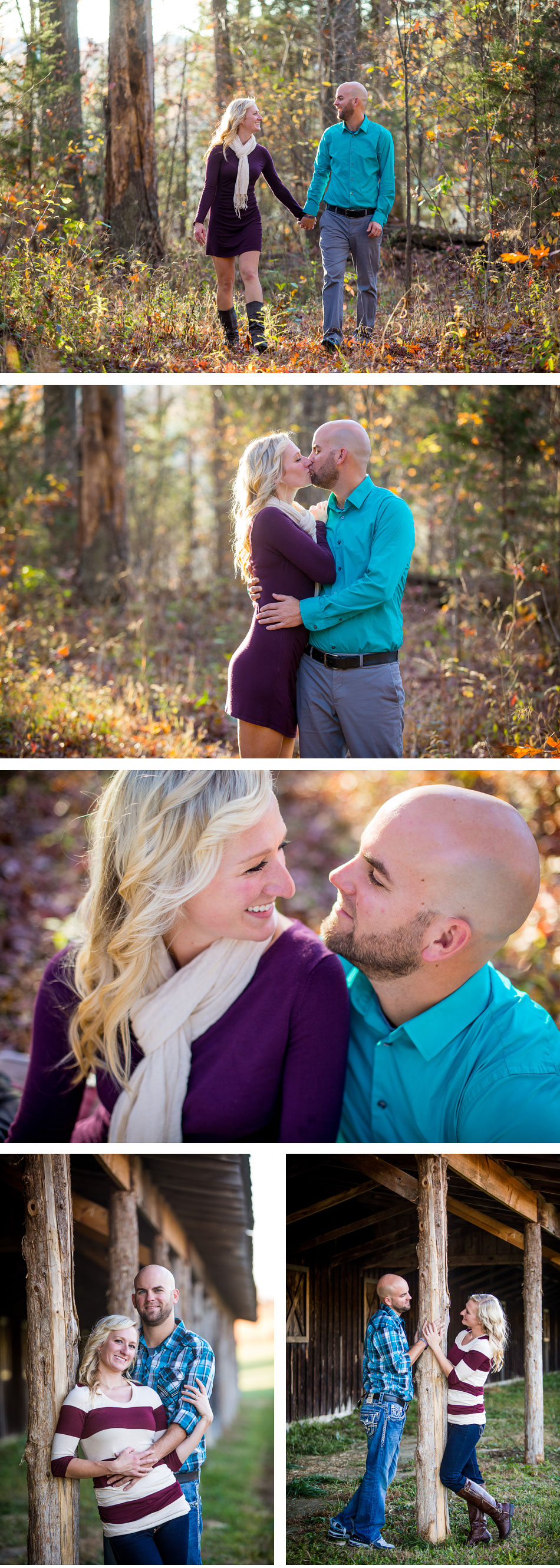 The Parkland's ar Floyd's Fork Engagement Photos