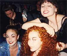 Kristina Berger, Sara Wigman, Beth Dincuff