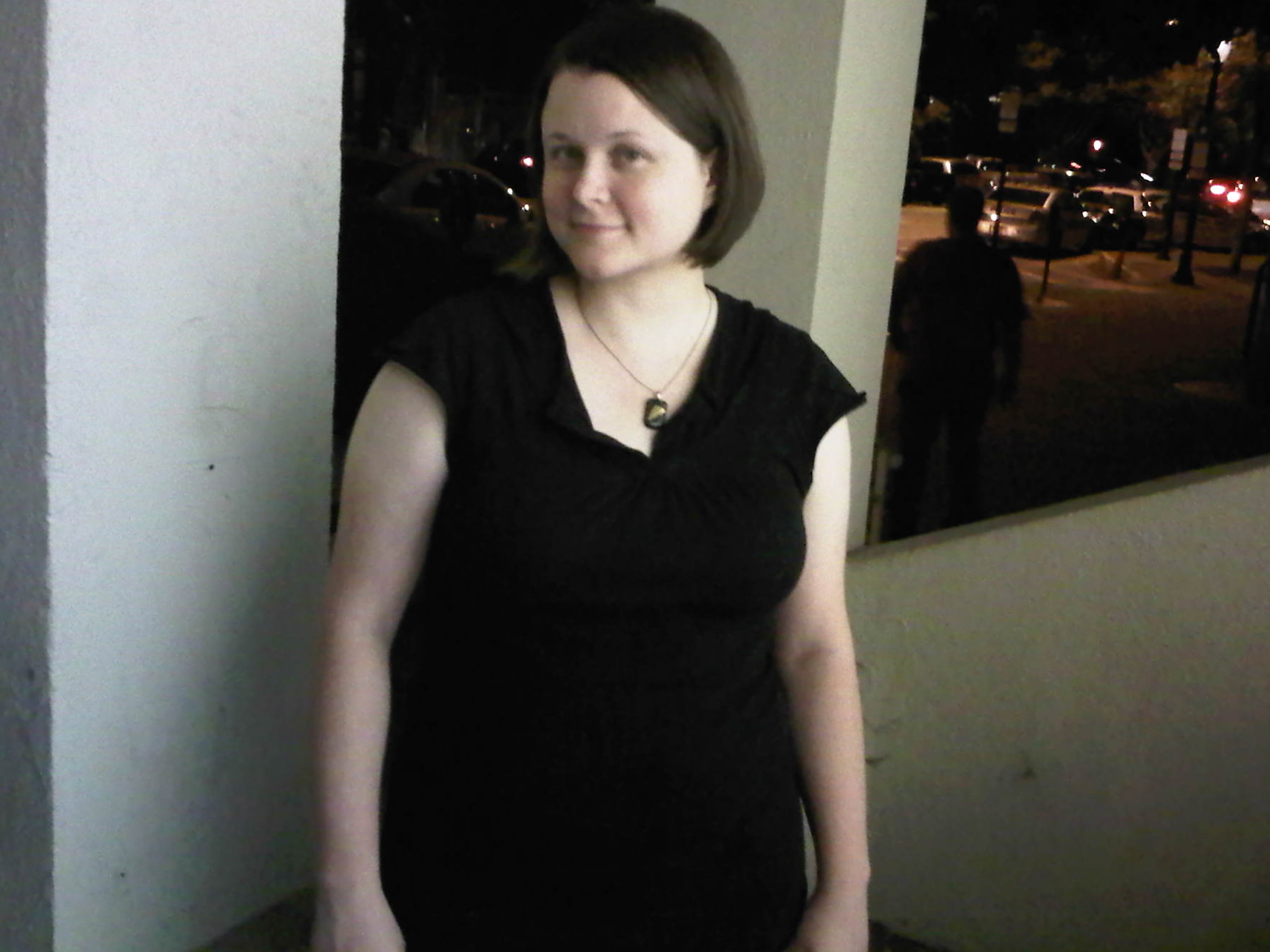 October 8, 2010. Wearing a size L shirt (down from XXL pre-primal) and size 14 jeans (down from size 18).