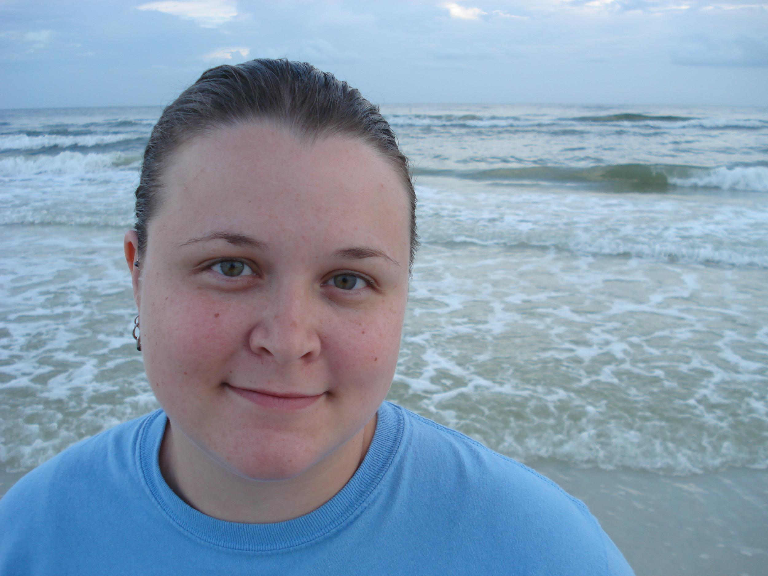 September 13, 2009, on honeymoon.