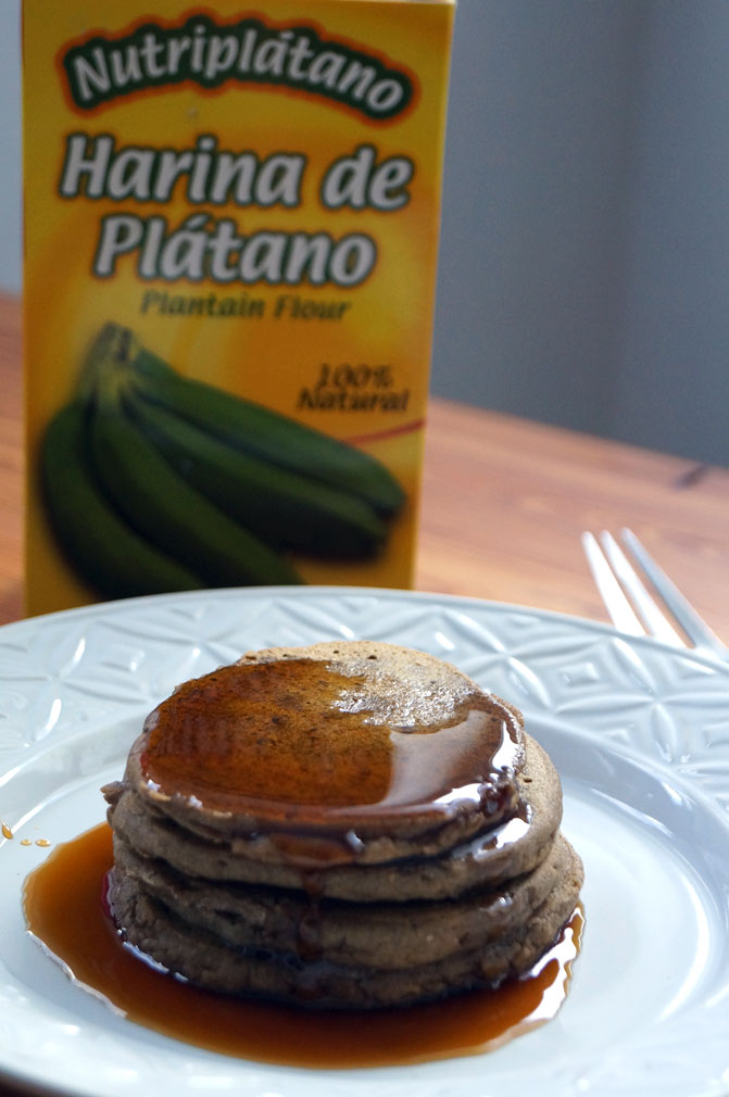 #plantain flour #pancakes! #paleo #glutenfree with an #eggfree variation