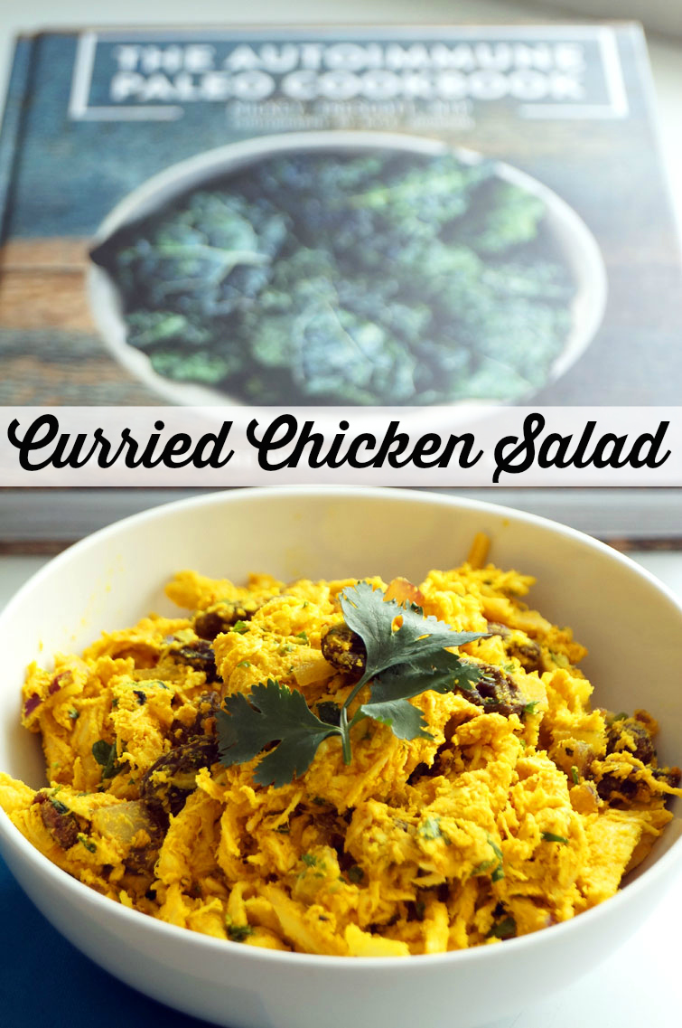 Curried Chicken Salad from The Autoimmune Paleo Cookbook // TheCuriousCoconut.com