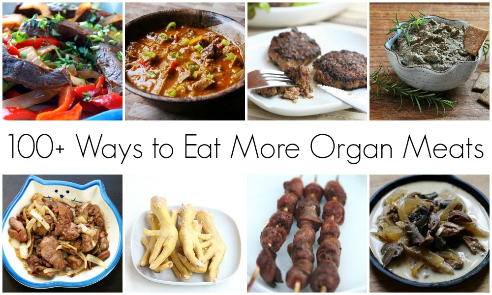 100+ ways to eat more organ meats // TheCuriousCoconut.com