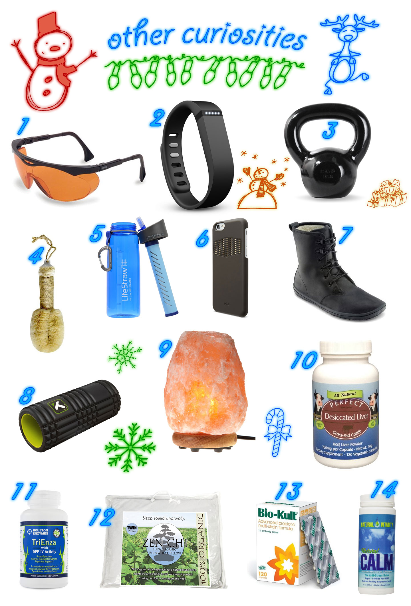 The Ultimate #Paleo #Holiday #Gift Guide - over 70 items!   // TheCuriousCoconut.com