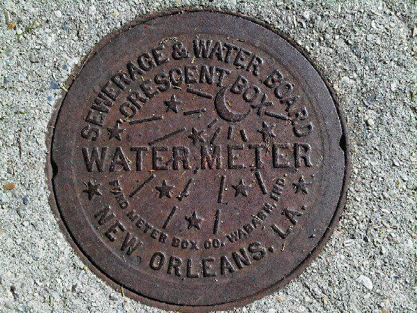 Crescent City Water Meter Lid