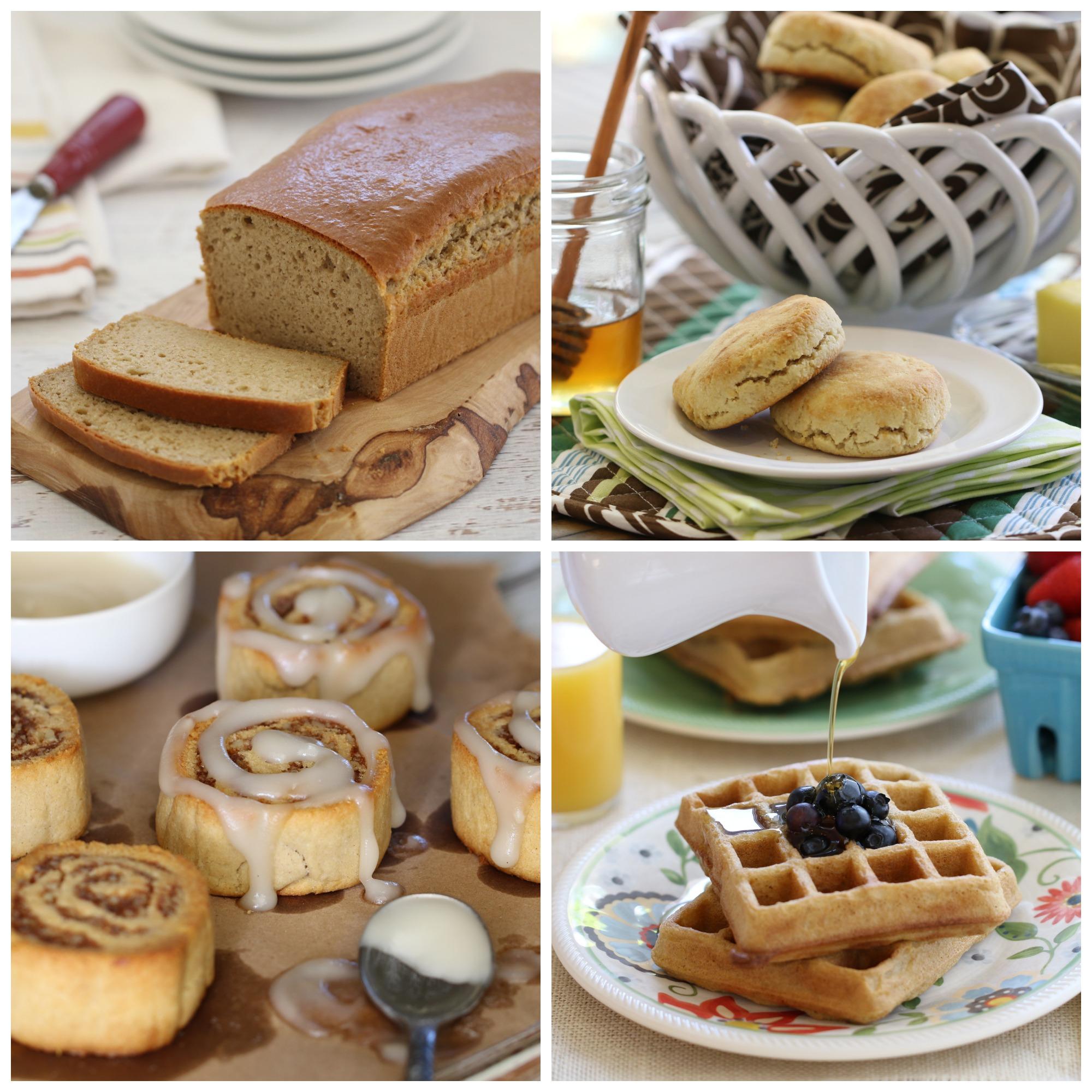 everday grain-free baking collage1
