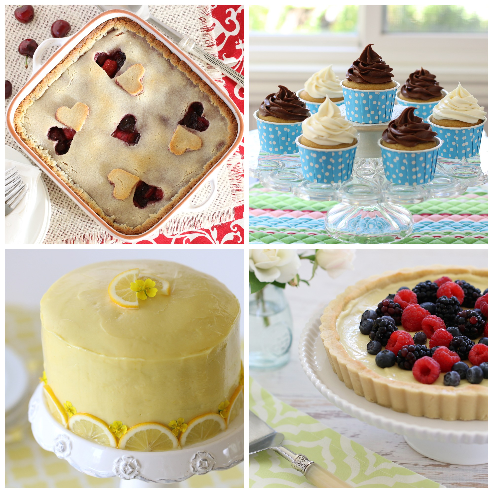 everyday grain-free baking collage2
