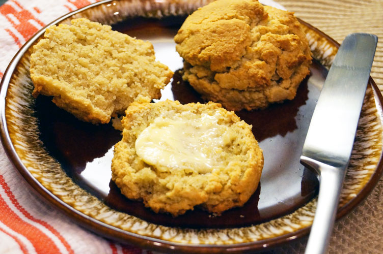 Paleo Southern-style Biscuits from Everyday Grain-Free Baking // TheCuriousCoconut.com