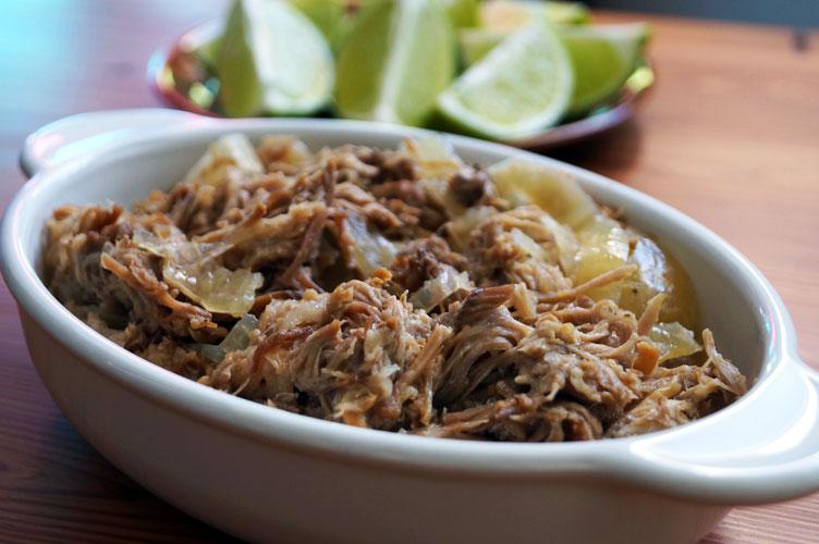 Paleo Cuban Lechon Asado for Slow Cooker or Instant Pot // TheCuriousCoconut.com