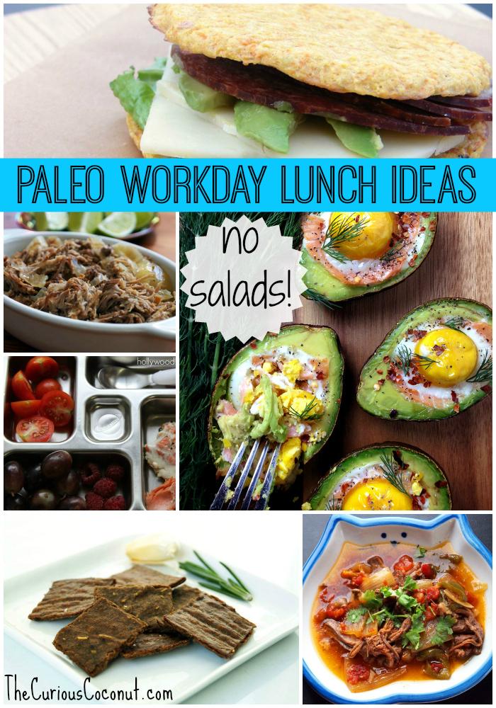 20+ #Paleo Workday Lunch Recipes (no salads!) // TheCuriousCoconut.com