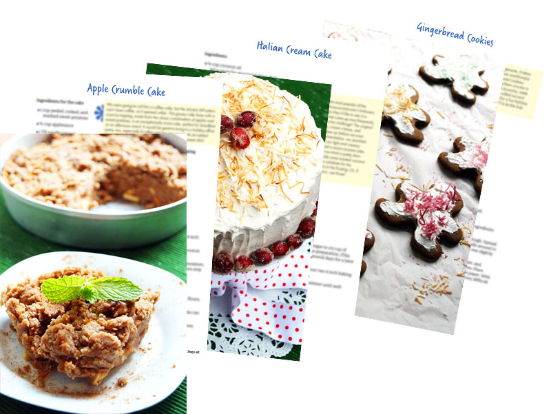 AIP crumbles and cookies and cakes