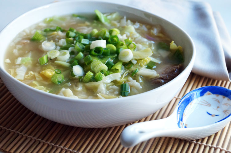 Instant Pot Congee - Chinese Medicine gut health superfood // TheCuriousCoconut.com