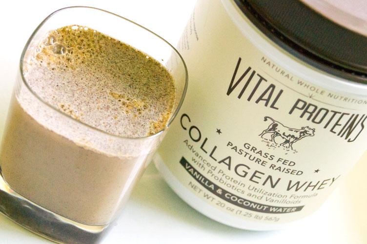 vital proteins collagen whey vanilla complete protein