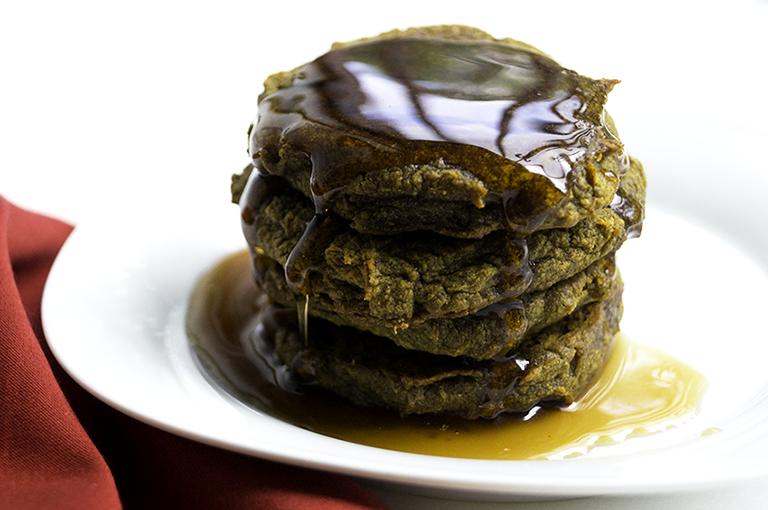 aip paleo plantain pumpkin pancakes (egg-free, vegan)