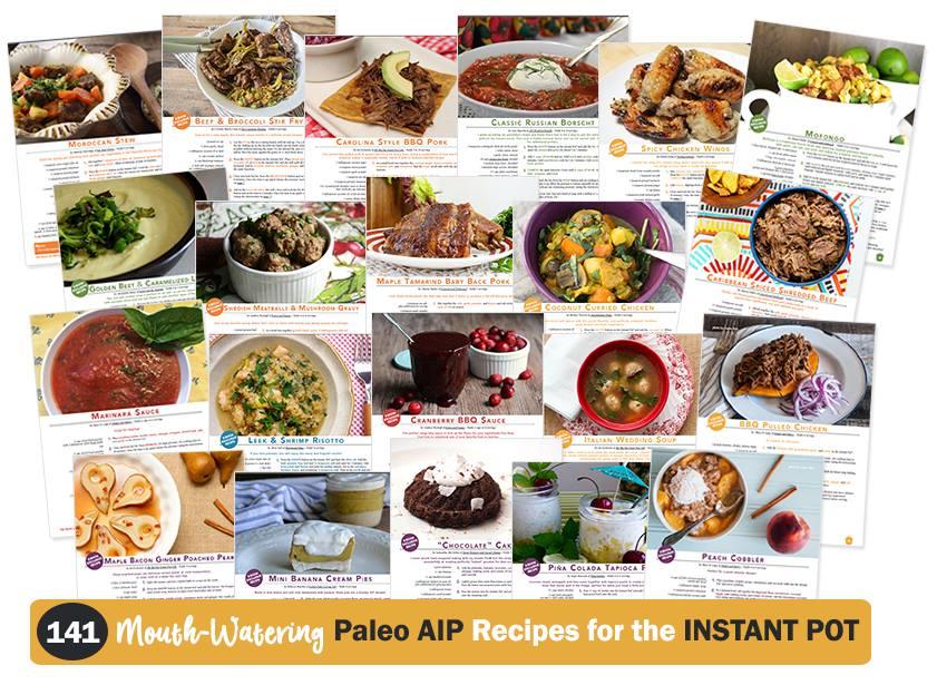paleo AIP instant pot cookbook