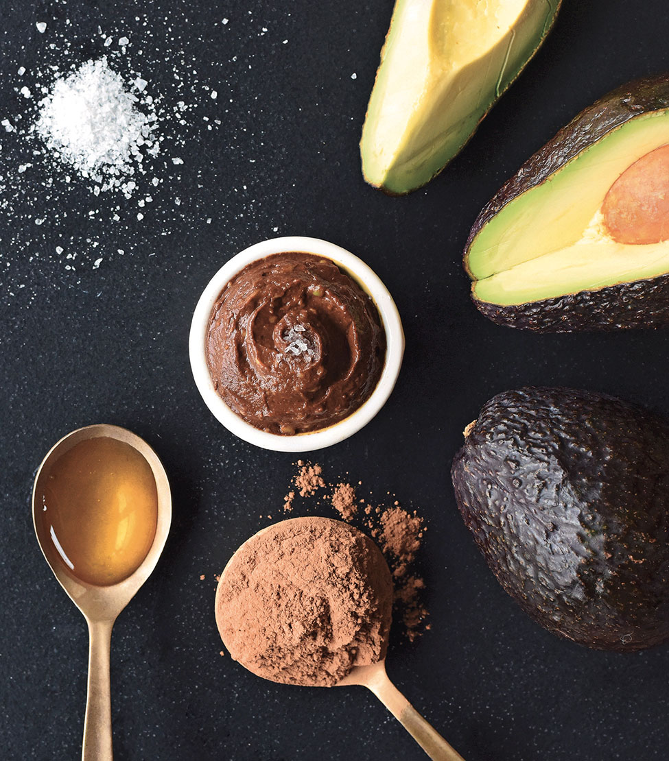 This chocolate pudding is made from just a few simple ingredients (avocados!) and is from the new cookbook Nourished Beginnings // TheCuriousCoconut.com
