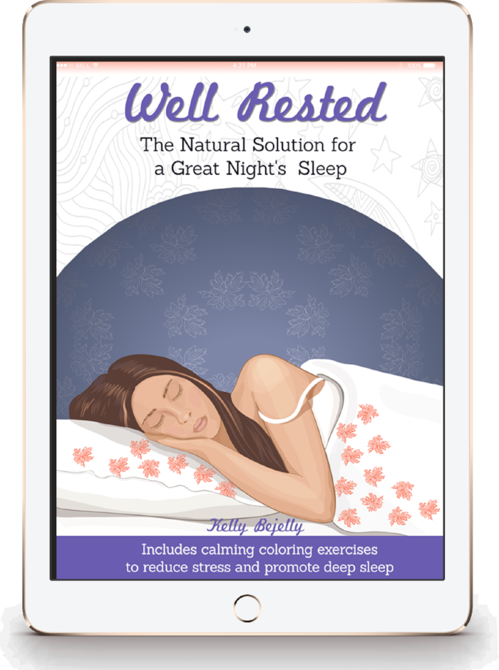 well rested natural sleep ebook