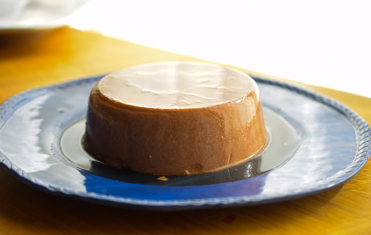 """Chocolate"" No Bake Flan (Egg-Free, Paleo, AIP)  //   TheCastawayKithcen  .  com   guest post on   TheCuriousCoconut  .  com"