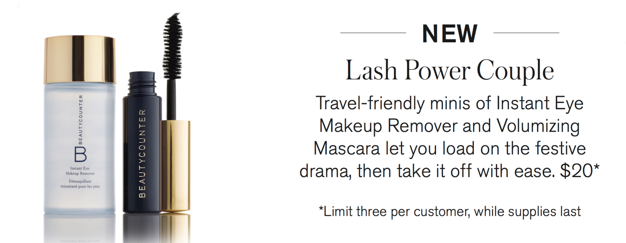 lash power couple beautycounter