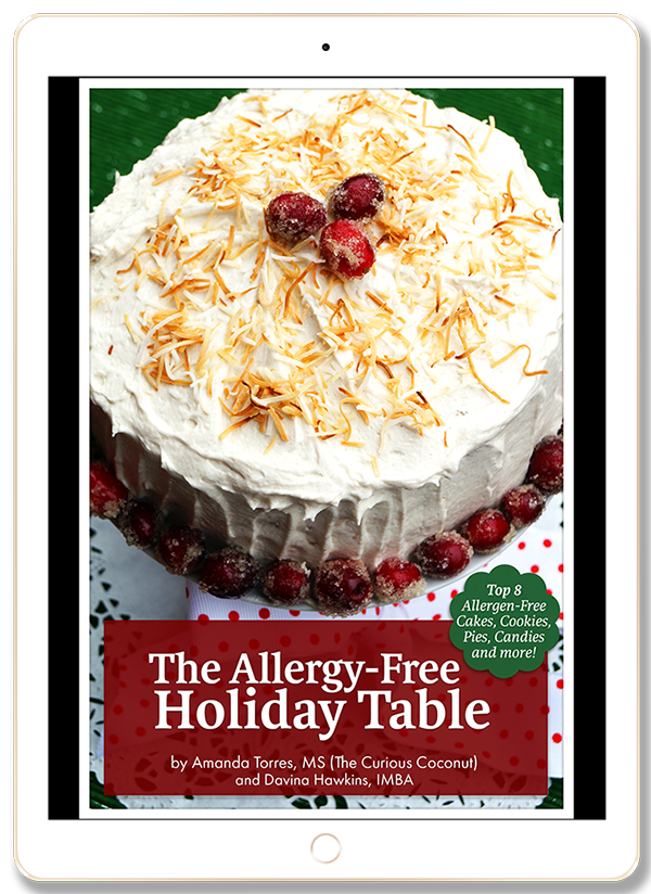 The Allergy-Free Holiday Table - No Compromise Baked Goods for Paleo, Autoimmune, Gluten-free, and Vegan Kitchens // TheCuriousCoconut.com