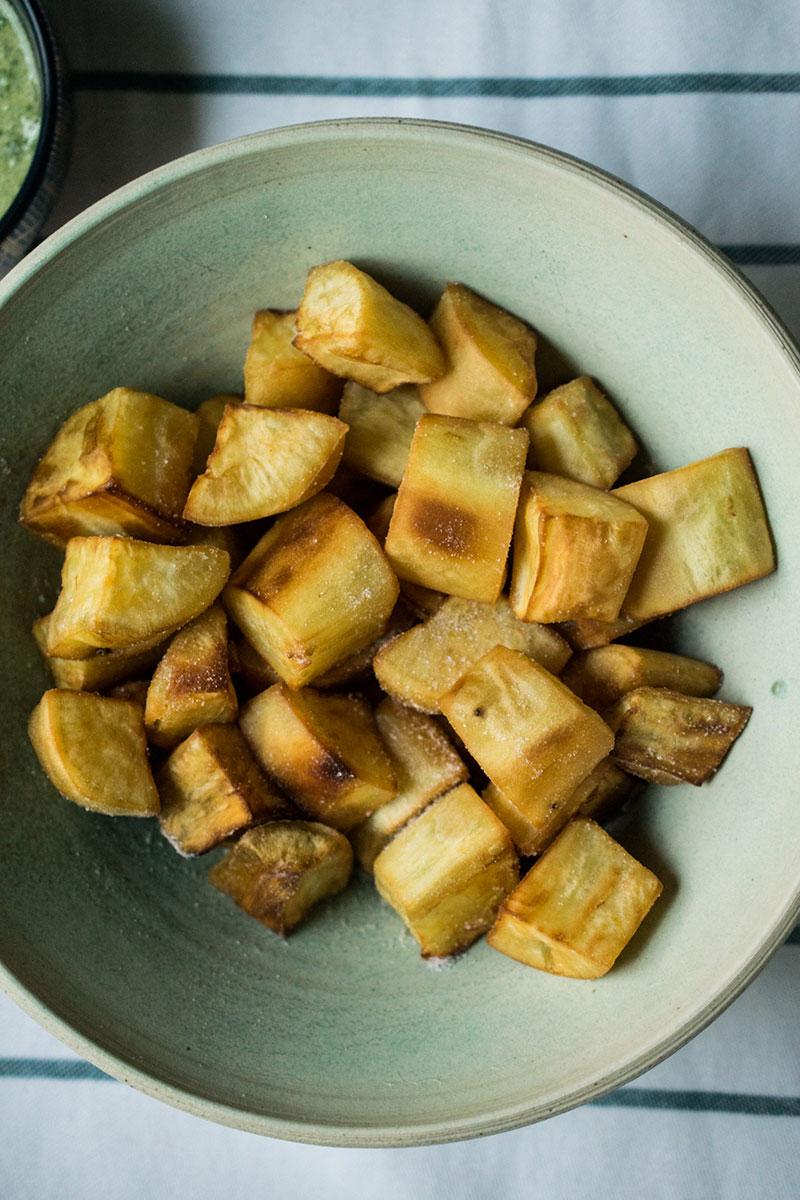 fried cuban sweet potatoes camote batata aip paleo whole30
