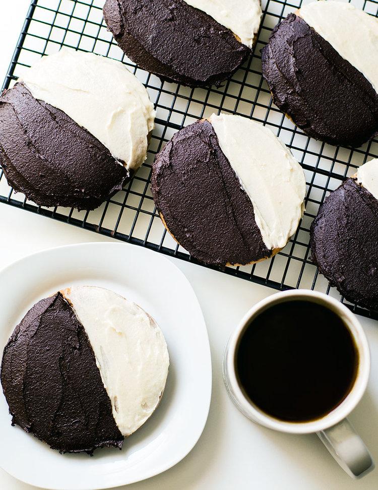 Nyc Black And White Cookies Paleo Vegan Aip Option