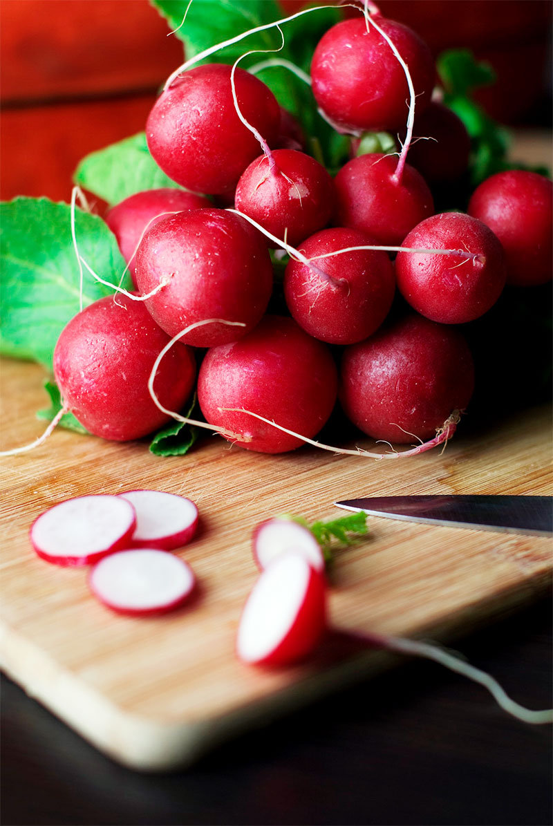 cooking radishes with greens
