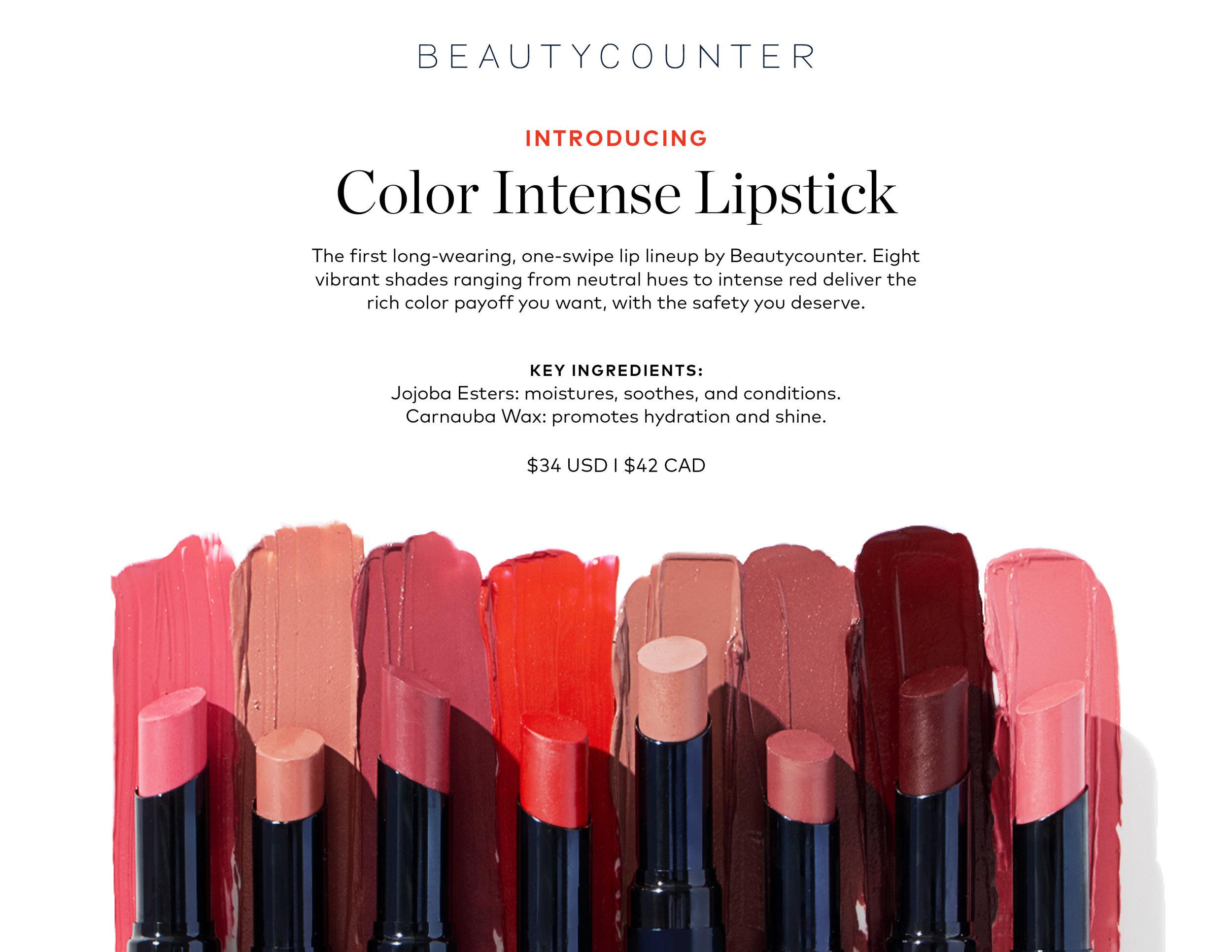 Color Intense Lipstick
