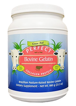 perfect supplements grass-fed gelatin