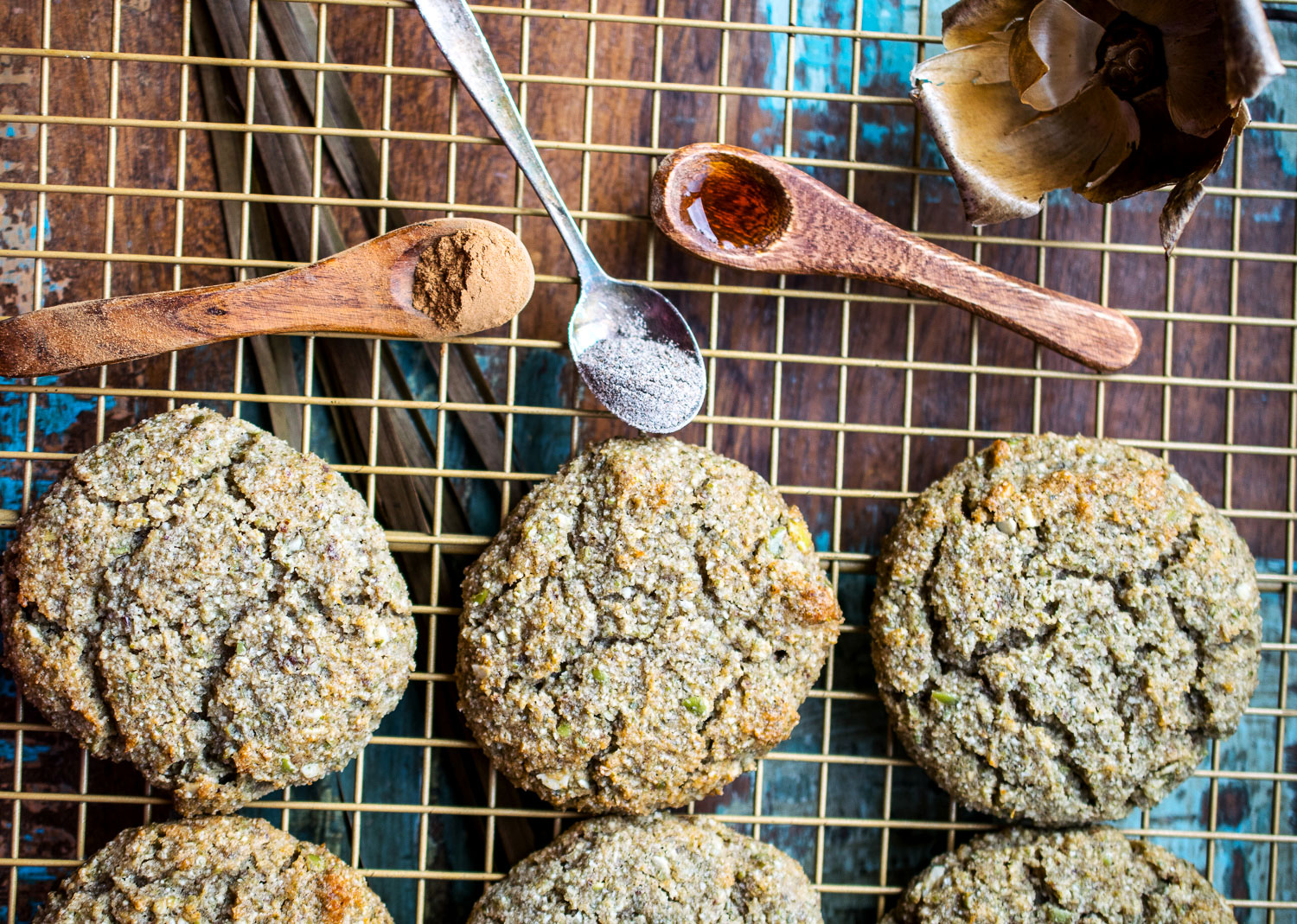 egg-free vanilla spice cookies for seed cycling