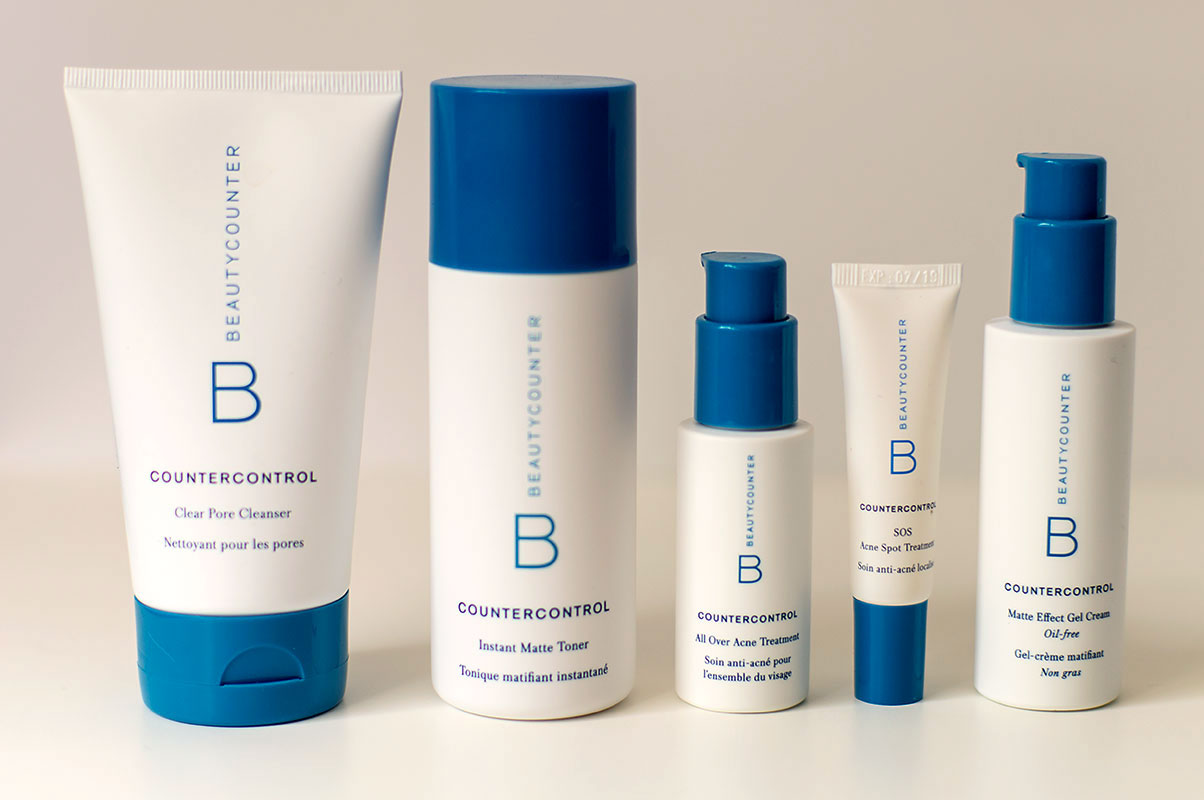 Beautycounter Countercontrol safe, non-toxic acne treatment line