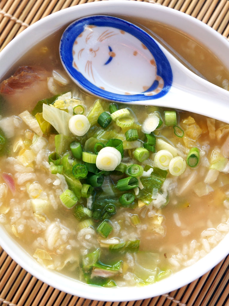 Congee is fast and easy to make in the Instant Pot pressure cooker