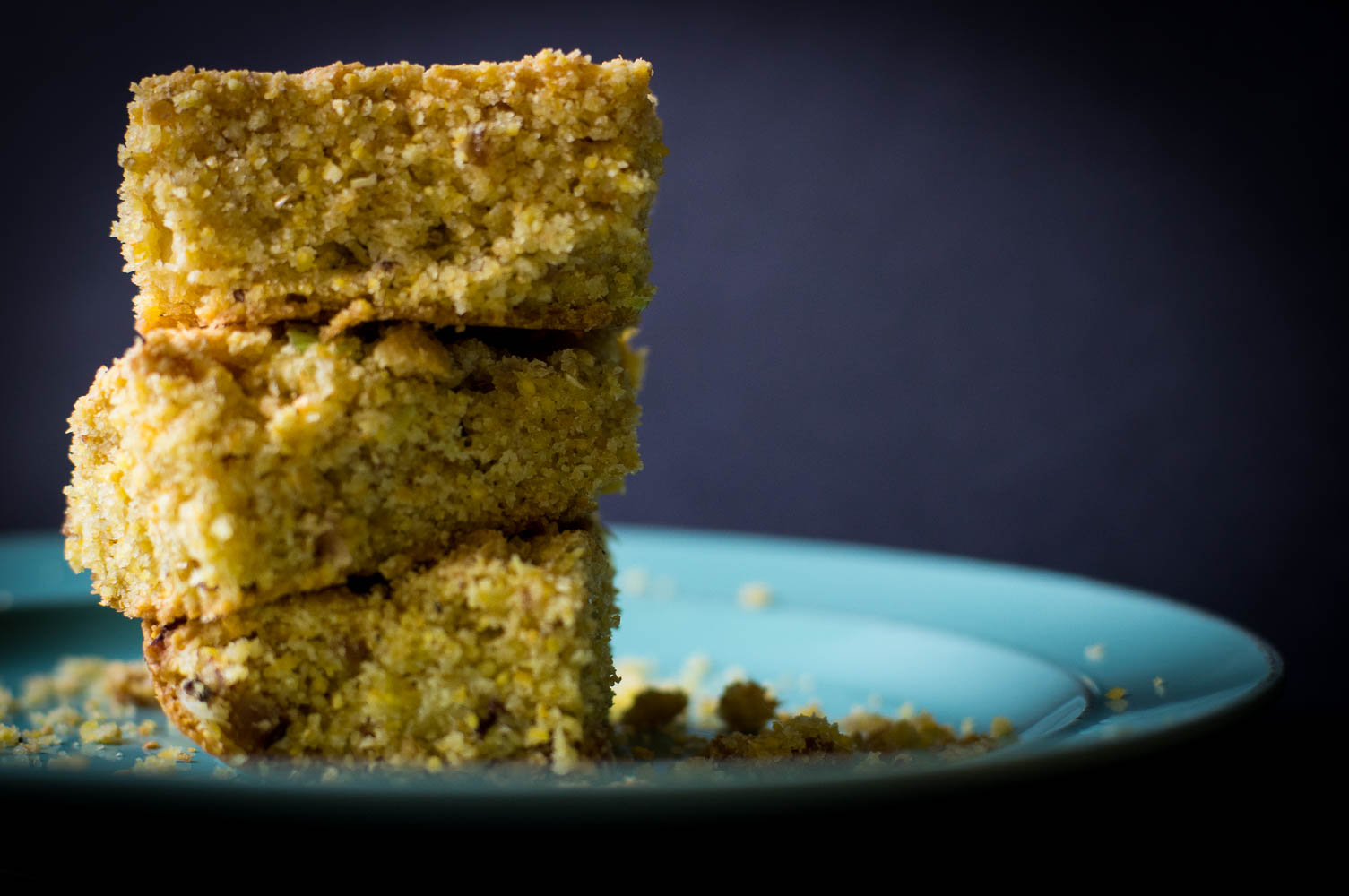 stack of Southern cracklin' cornbread
