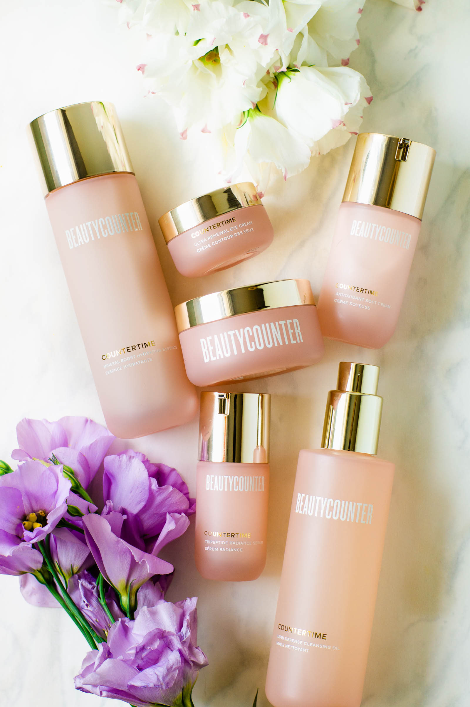 Countertime features bakuchiol, a vegan alternative to retinol that is scientifically proven just as effective for anti-aging
