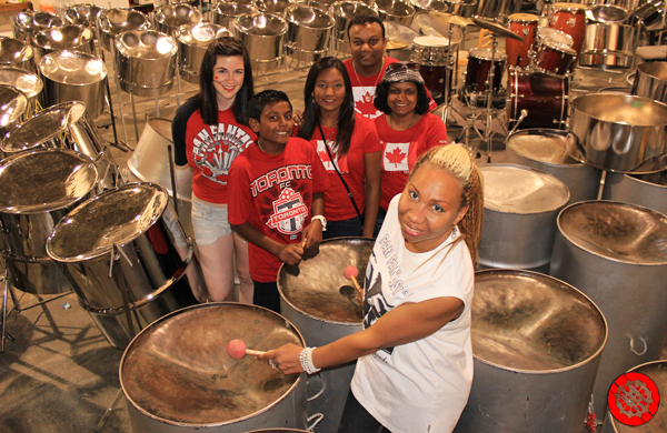 Celebrating Canada Day at Downsview Park with Pan Fantasy Steelband