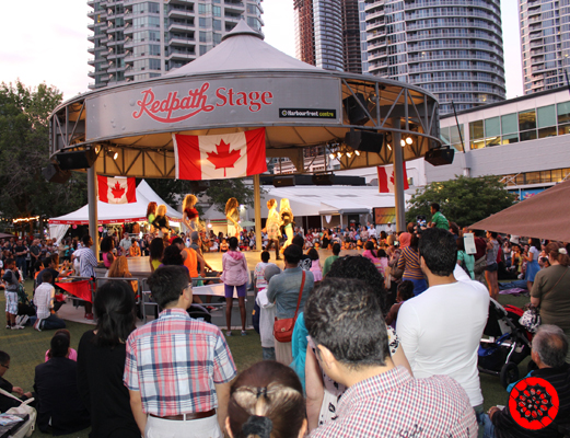 Canada Day Celebration at the Red Path Stage at Harbourfront