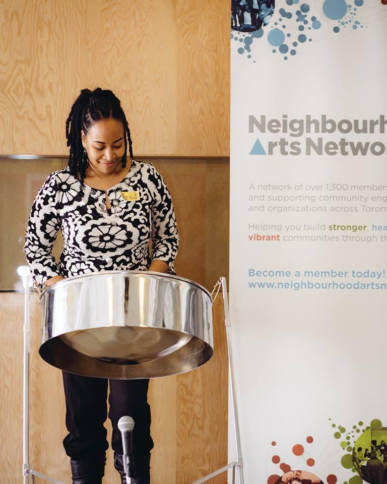 Neighbourhood Arts Network Reception