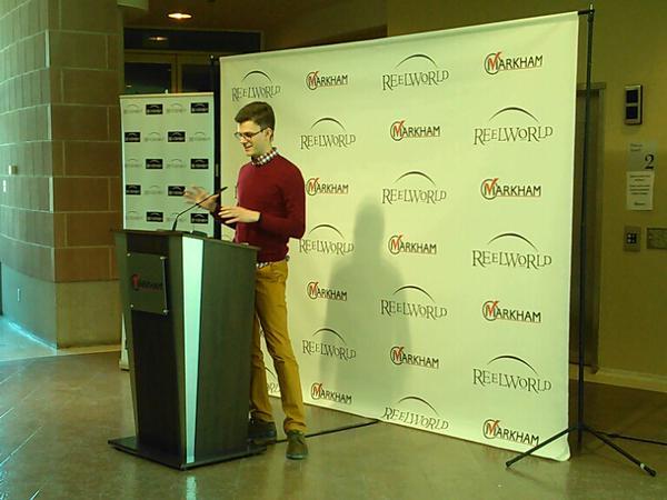 Carter Bruce, Programmer for Reel World Film Festival