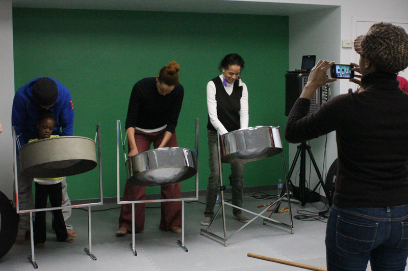 Parents taking a knock on the steelpans