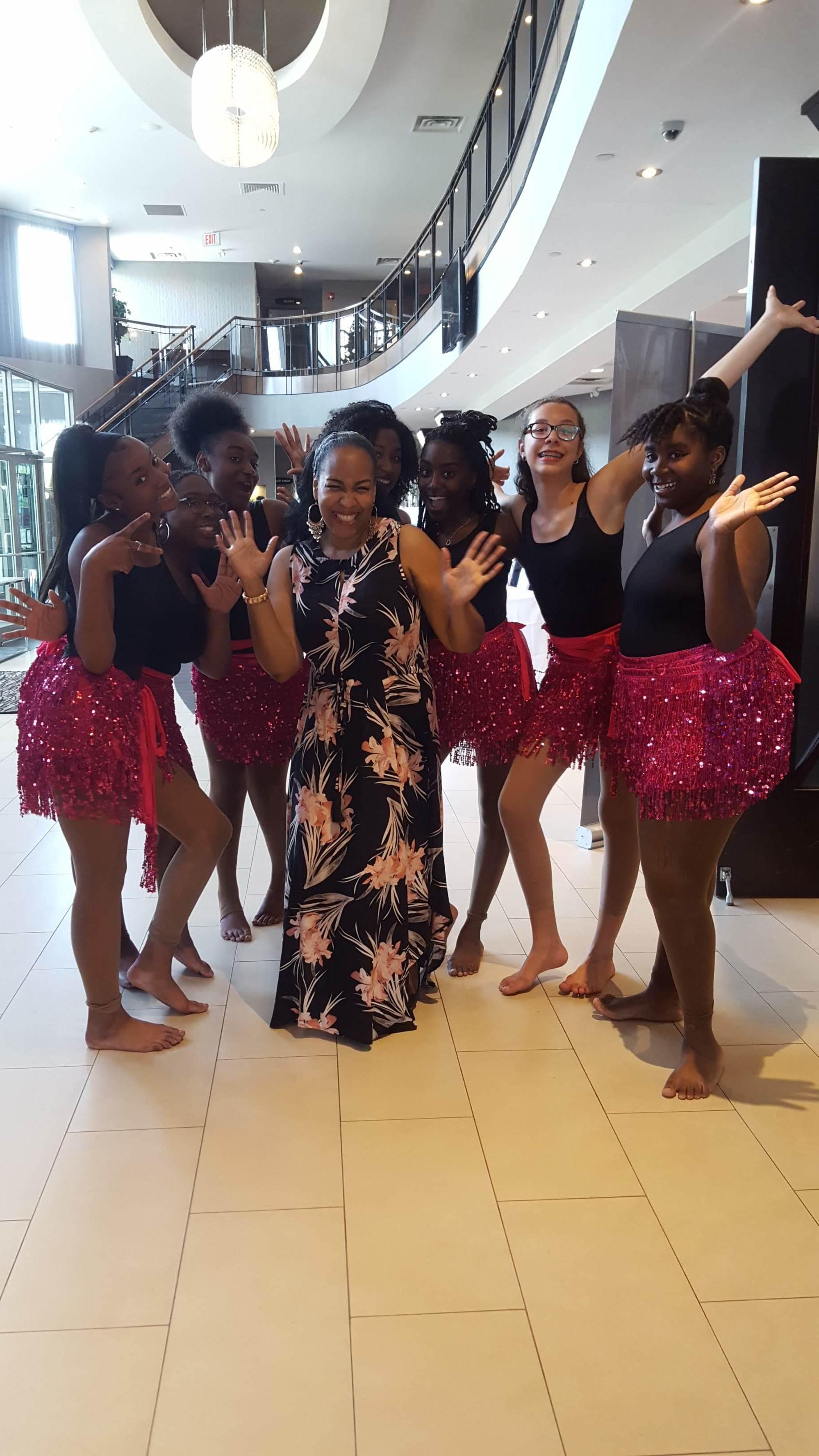 Riddim Fit Dancers & Steelpannist Suzette Vidale