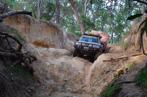 Palm Creek on Old Telegraph Track, Thanks to our good friends at Austrail4X4
