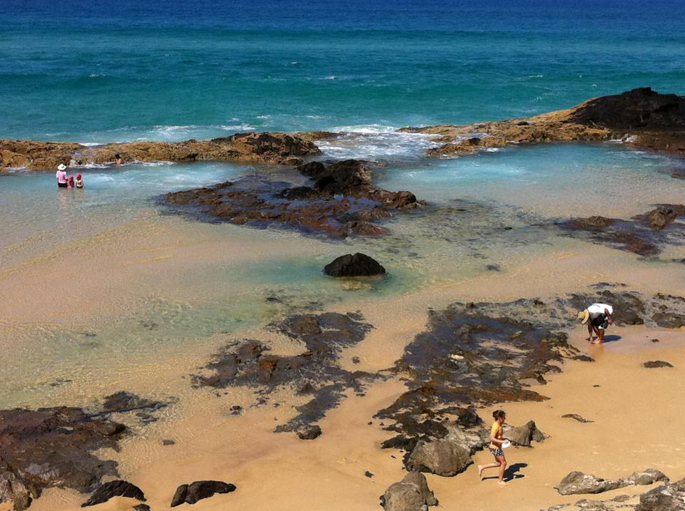 Champagne Pools, great swimming spot, from our lovely facebook fan Kellie Smith